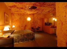 The Desert Cave Hotel in Coober Pedy, Australia.