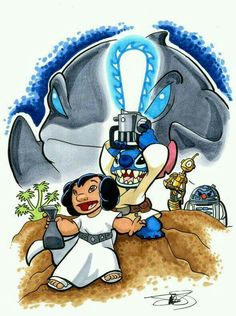 Star Wars. Lilo and Stitch edition.