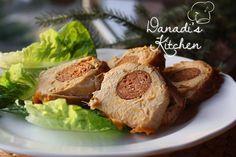 Csabai töltött karaj Food 52, Pork, Favorite Recipes, Meals, Kitchen, Kale Stir Fry, Cooking, Meal, Kitchens