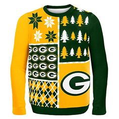 How funny is this? Ugly Christmas sweaters now available with your favorite NFL team. LOL. Good ole Amazon.