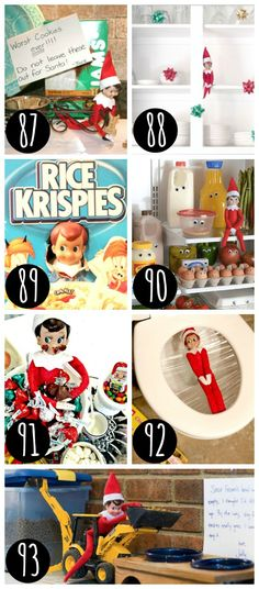 Funny-Elf-on-the-Shelf-hiding-places..jpg (550×1250)