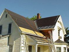 How To Re-Shingle An Old House With A Steep Roof, Gables And Valleys, Using Architectural Shingles