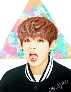 BTS Fanart Taehyung by Obligated on DeviantArt