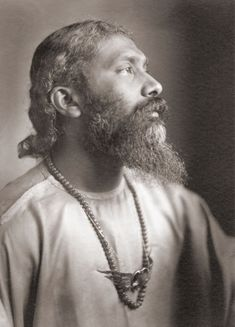 This is Hazrat Inayat Khan......no longer alive but very much alive to me. He is my inspiration my strength and my teacher and without his words, volumes of work, my life would be unimaginable.