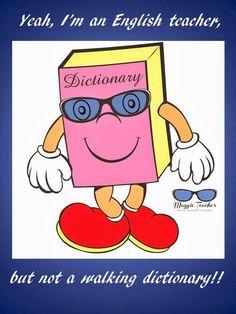 I'm not a walking dictionary! Maldicion!