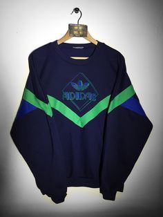 Adidas sweatshirt Size Large (but Fits Oversized) £36  Website➡️ www.retroreflex.uk  #adidas #trefoil #vintage #sweatshirt #oldschool