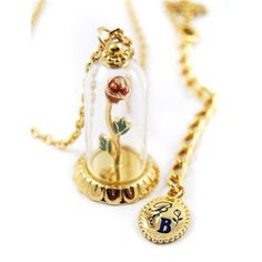 Beauty and the Beast Disney Couture Necklace