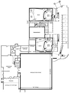 Paisley Park level 0...Floor plan.