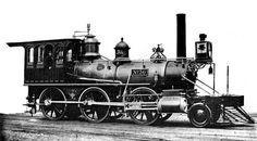New Jersey Railroad and Transportation Company No. 36, built by Rogers Locomotive Works in 1863