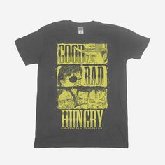 The Good, The Bad and The Hungry T-Shirt – Cap'N Cook £13 The Walking Dead Merchandise, Types Of Fashion Styles, Good Things, Cooking, Mens Tops, T Shirt, Clothes, Kitchen, Supreme T Shirt