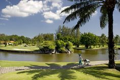 Thaimaan parhaat golf-kohteet ovat Hua Hin ja Phuket. Tiiausajat kentille voit varata etukäteen. #golf #Thailand Varanasi, Phuket, Golf Courses