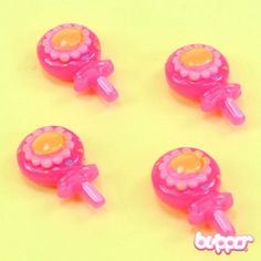 Lollipop Magnets - 4pcs