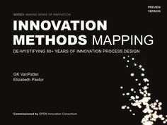 Innovation Methods Mapping This is a preview version of the Innovation Methods Mapping Book. This book will soon be published. If you would like to be placed on the list to be notified when the book is available in print form feel free to send an email to: kickitup (at) humantific (dot) com