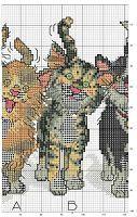 Eight Cats 3 Biscornu Cross Stitch, Cross Stitch Books, Cross Stitch Art, Cross Stitch Animals, Cross Stitch Embroidery, Baby Cross Stitch Patterns, Cat Cross Stitches, Cross Stitch Needles, Cross Stitching