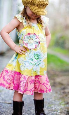 LOVE! Fleur  Vintage Flutter Dress pM 2010 6m 12m 18m 2 3 4 by PrettyMe, $38.00