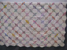 shopgoodwill.com - #32894310 - Vintage Patchwork Multicolored Handmade Quilt…