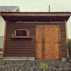 insta→dangoman3/小屋/2×4工法/DIY/杉材/ガレージ…などのインテリア実例 - 2016-06-21 06:24:10…
