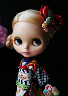 GEISHA BLYTHE DOLL KENNER Art Print by Roguedolls | Society6