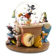 Disney Fab 5 music snowglobe