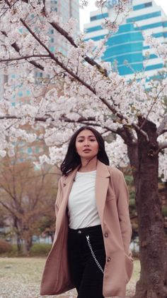 Love the cherry blossoms. Nadine Lustre Fashion, Nadine Lustre Outfits, Filipina Girls, Filipina Actress, Lady Luster, Winter Outfits, Casual Outfits, Jadine, Celebs