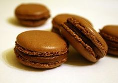 Palócprovence: Macaroon hűhó nélkül Macaron Flavors, Macaron Recipe, Sweet Cookies, Cake Cookies, Cupcakes, Meringue, Vanilla Macarons, Chocolate Pastry, Cookie Desserts