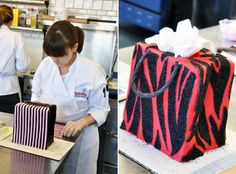 Advanced Cake Decorating Techniques with Michelle Bommarito at ICE's Center for Advanced Pastry Studies