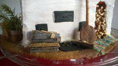 Piparista leivottu takka-leivinuuni-puuhella Firewood, Texture, Crafts, Surface Finish, Woodburning, Manualidades, Handmade Crafts, Diy Crafts, Craft