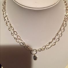 "Origami  Owl 32"" Silver Flat Oval Chain Like New! Origami Owl Jewelry Necklaces"