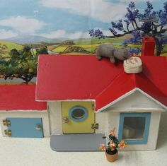 Rebecca's Collections: There's a Hippopotamus on my roof ...