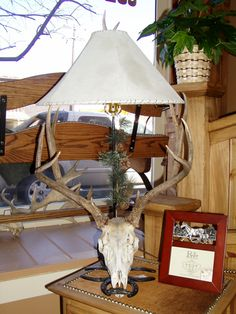 Deer Skull Lamp, 719.657.3111, www.coloradocowgirls.net