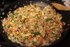 Fried Rice for Hungry College Students : 4 Steps (with Pictures) meals for college students Fried Rice for Hungry College Students College Food Hacks, Easy College Meals, College Cooking, Frugal Meals, Easy Meals, College Student Food, Easy Recipes For College Students, College Recipes, Student Dinners