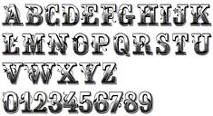 antique lettering - Google Search