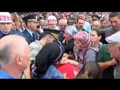 Şehit Binbaşı Arslan Kulaksız Merzifon'da son yolculuğuna uğurlandı