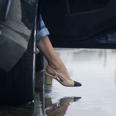 Chanel Slingback shoe video series | Harper's Bazaar