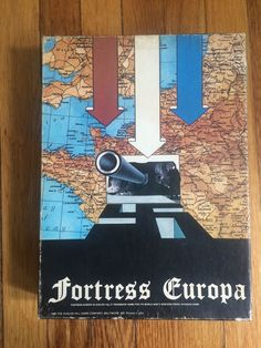 Avalon Hill FORTRESS EUROPA World War II Invasion of Europe AH 1980 ~ EUC #AvalonHill