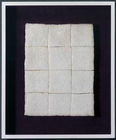 Piero Manzoni Achrome, 1960  Cotton Wool Squares  ArtExperienceNYC   www.artexperiencenyc.com