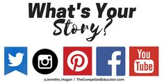 Everyone has a story to tell. What's yours? The Compelled Educator