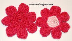How to Crochet a 7 Petal Flower