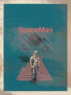Space Man on Behance
