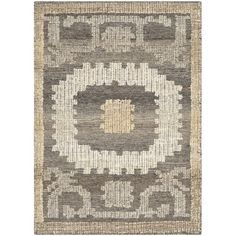 World Menagerie Gretta Hand-Tufted Wool Ivory/Brown Area Rug Rug Size: Rectangle x Wool Area Rugs, Beige Area Rugs, Wool Rug, Rug Size Guide, Accent Rugs, Throw Rugs, Hand Knotted Rugs, Vibrant Colors, Pure Products