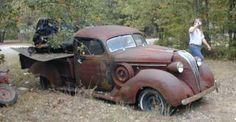 Amazing Rusty Finds Searchlocated Hudson Terraplane Pick Up Barn Find