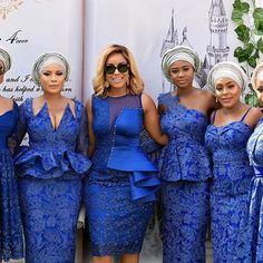 Trendy and Stylish Ankara style Joselyn Dumas - Reny styles Lace Dress Styles, African Lace Dresses, African Fashion Dresses, Nigerian Dress Styles, Ankara Styles, African Fashion Traditional, Classy Gowns, African Attire, African Wear