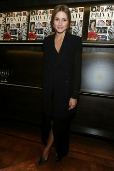 THE OLIVIA PALERMO LOOKBOOK: Olivia Palermo at the book signing for Giancarlo Giammetti's Autobiography Private Giancarlo Giammett in New Yo...