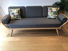 (It's not very heavy). Outdoor Sofa, Outdoor Furniture, Outdoor Decor, Ercol Furniture, Daybed, Sofas, Love Seat, Mid Century, Delivery