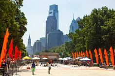 The Oval, an exciting new public space on Philadelphia's Benjamin Franklin Parkway. (Photo: M. Fischetti for GPTMC)