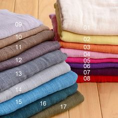 Muslin Fabric Cheesecloth 140cm wide 2 Colours Sold by the metre FREE SAMPLES