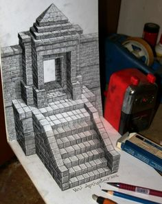 3D Drawing by Veri Apriyatno