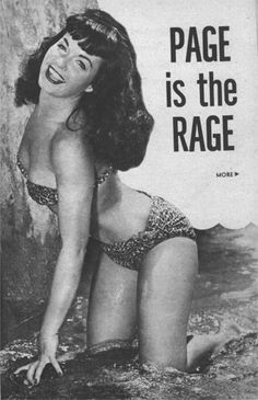 Page is the rage! (I'll say!)