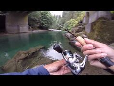 Trout Fishing with Powerbait on a River Bank – Fishin Fun