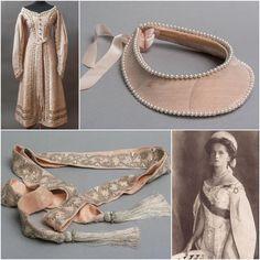 Olga Nikolaevna's 1911 court dress #russian #grandduchess #olga #romanov #1911 #court #dress #kokoshnik #imperial #russia #history #russianroyalty